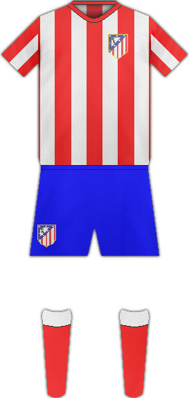 Camiseta C. ATLETICO DE MADRID