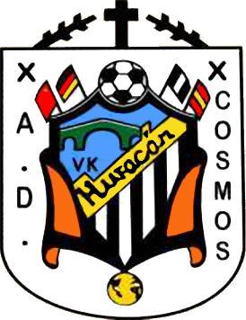 Escudo de A.D.  COSMOS HURACAN (MADRID)