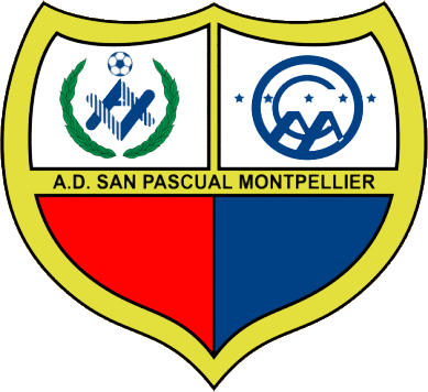 Escudo de A.D. SAN PASCUAL MONTPELLIER (MADRID)