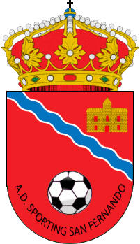 Escudo de A.D. SPORTING SAN FERNANDO (MADRID)