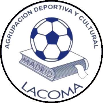Escudo de A.D.C.  LACOMA (MADRID)