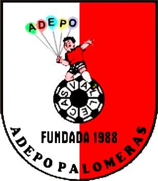 Escudo de A.D.E.P.  PALOMERAS (MADRID)
