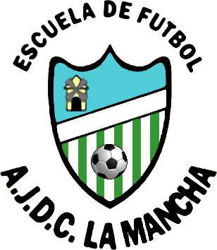 Escudo de A.J.D.C.  LA MANCHA (MADRID)