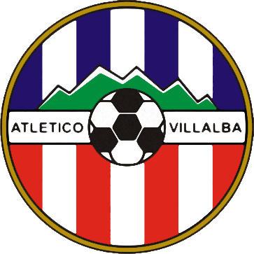 Escudo de ATLÉTICO VILLABA (MADRID)