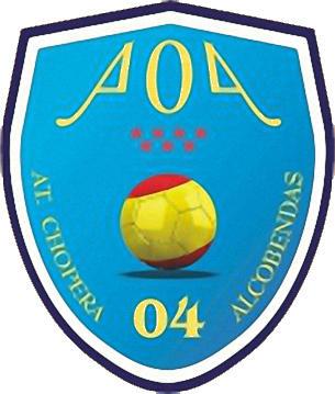 Escudo de ATLETICO CHOPERA ALCOBENDAS 04 (MADRID)