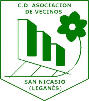 Escudo de C.D. A.V. SAN NICASIO (MADRID)