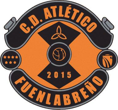 Escudo de C.D. ATLÉTICO FUENLABREÑO (MADRID)