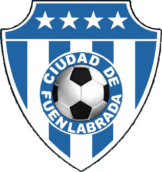 Escudo de C.D. CIUDAD DE FUENLABRADA (MADRID)