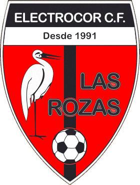 Escudo de C.D. ELECTROCOR LAS ROZAS C.F. (MADRID)