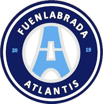 Escudo de C.D. FUENLABRADA ATLANTIS (MADRID)