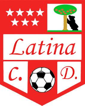 Escudo de C.D. LATINA (MADRID)