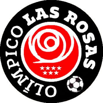 Escudo de C.D. OLÍMPICO LAS ROSAS (MADRID)
