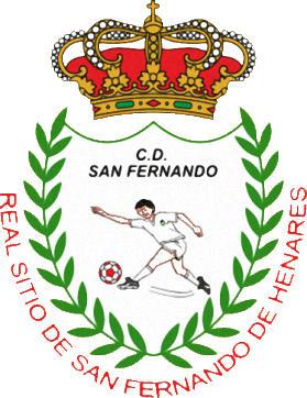Escudo de C.D. SAN FERNANDO (MADRID)