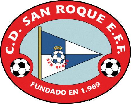 Escudo de C.D. SAN ROQUE E.F.F. (MADRID)