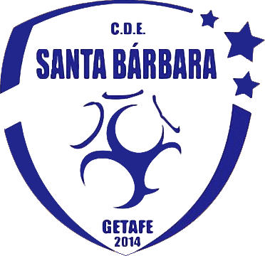 Escudo de C.D. SANTA BÁRBARA GETAFE (MADRID)