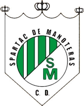 Escudo de C.D. SPARTAC DE MANOTERAS (MADRID)