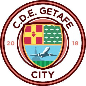 Escudo de C.D.E GETAFE CITY (MADRID)