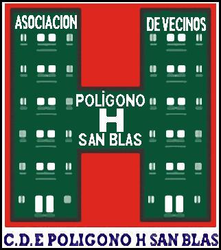 Escudo de C.D.E. POLIGONO H SAN BLAS (MADRID)