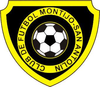 Escudo de C.F. MONTIJO-SAN ANTOLIN (MADRID)