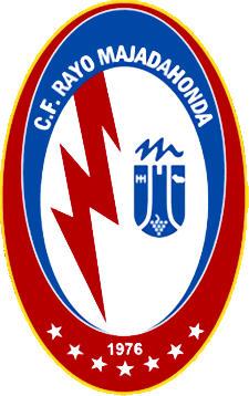 Escudo de C.F. RAYO MAJADAHONDA (2) (MADRID)