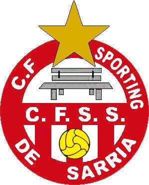 Escudo de C.F. SPORTING DE SARRIA (MADRID)