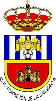 Escudo de C.F. TORREJÓN DE LA CALZADA (MADRID)
