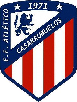 Escudo de E.F.  ATLÉTICO CASARRUBUELOS (MADRID)