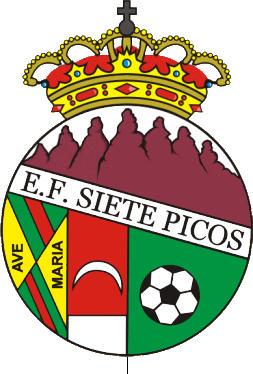 Escudo de E.F. SIETE PICOS COLMENAR (MADRID)