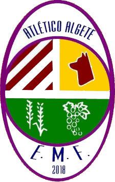 Escudo de E.M.F. ATLÉTICO ALGETE (MADRID)