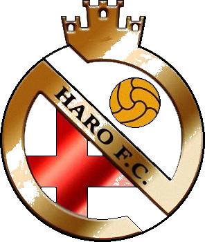 Escudo de HARO F.C. (MADRID)