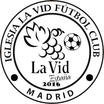 Escudo de IGLESIA LA VID F.C. (MADRID)