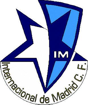 Escudo de INTERNACIONAL DE MADRID C,F (MADRID)
