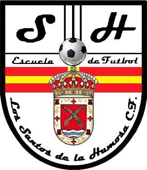 Escudo de LOS SANTOS DE LA HUMOSA C.F. (MADRID)
