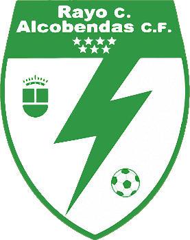 Escudo de RAYO CIUDAD DE ALCOBENDAS C.F DESDE 2020. (MADRID)