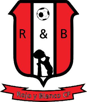 Escudo de ROJO Y BLANCO CF (MADRID)