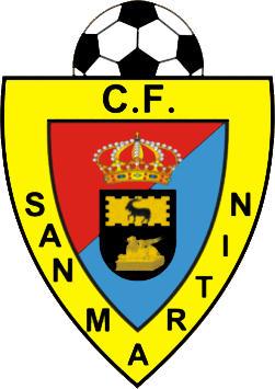 Escudo de SAN MARTIN C.F. (MAD.) (MADRID)
