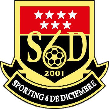 Escudo de SPORTING SEIS DE DICIEMBRE (MADRID)