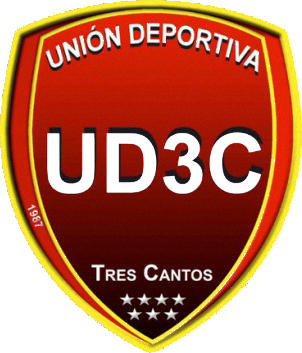 Escudo de U.D. TRES CANTOS (MADRID)