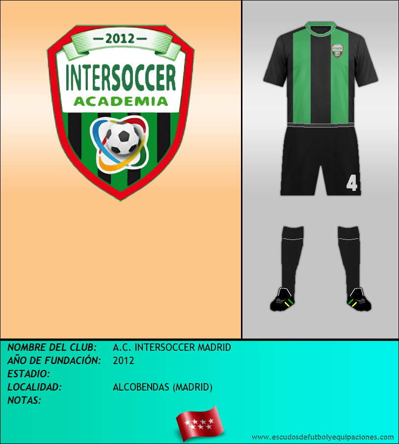 Escudo de A.C. INTERSOCCER MADRID