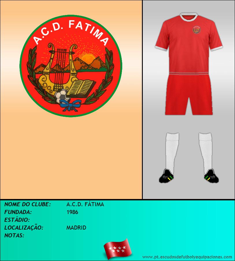 Escudo de A.C.D. FÁTIMA