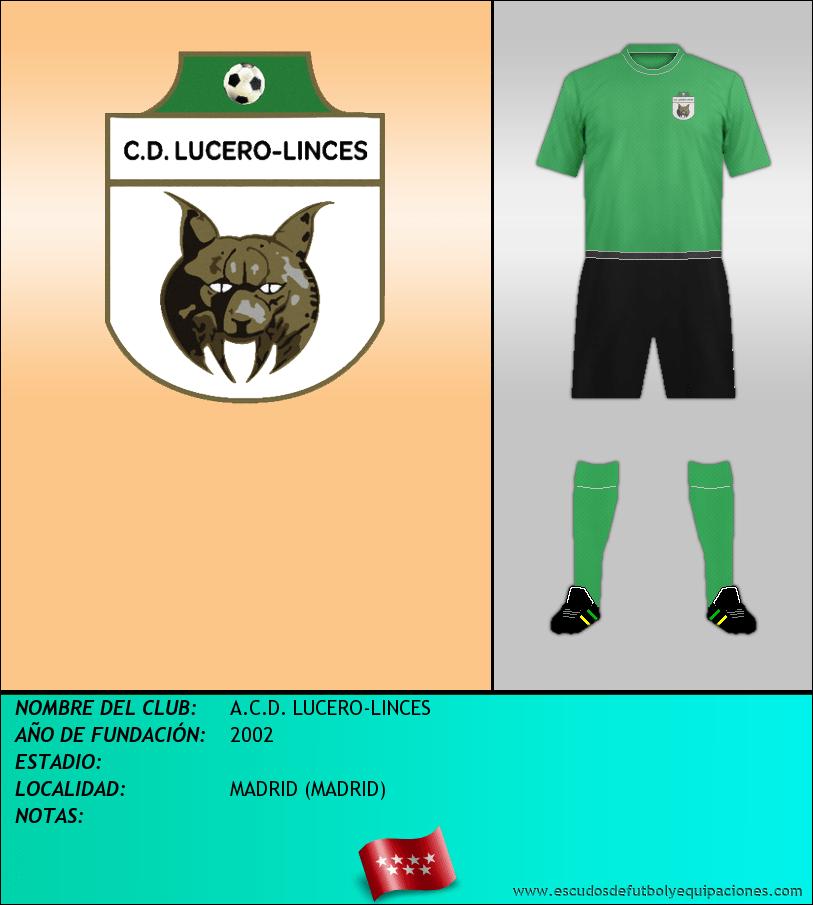 Escudo de A.C.D. LUCERO-LINCES