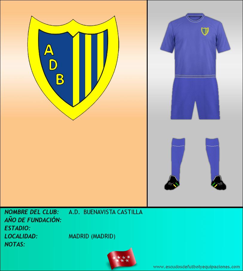 Escudo de A.D.  BUENAVISTA CASTILLA