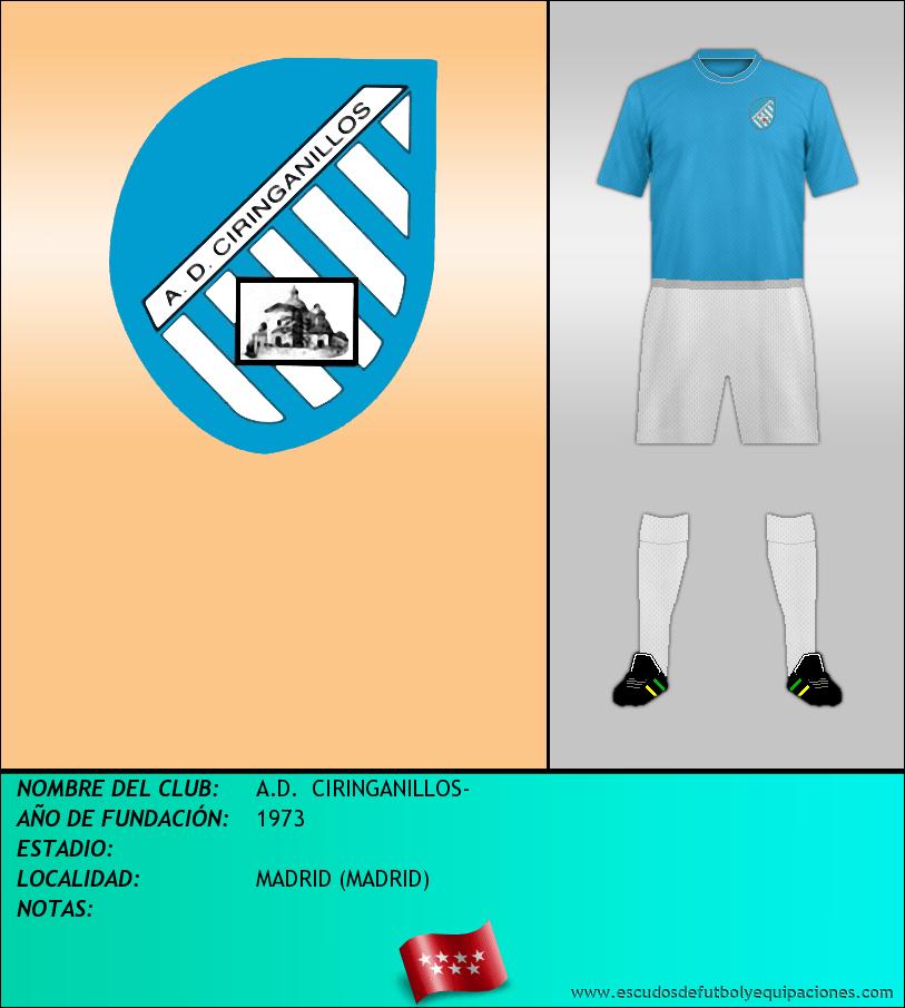 Escudo de A.D.  CIRINGANILLOS-