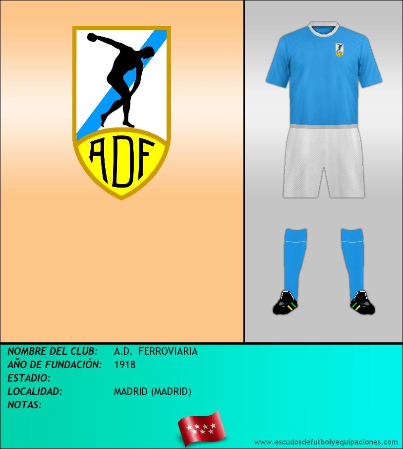 Escudo de A.D.  FERROVIARIA
