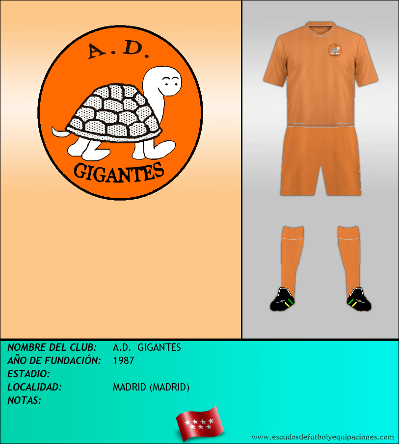 Escudo de A.D.  GIGANTES