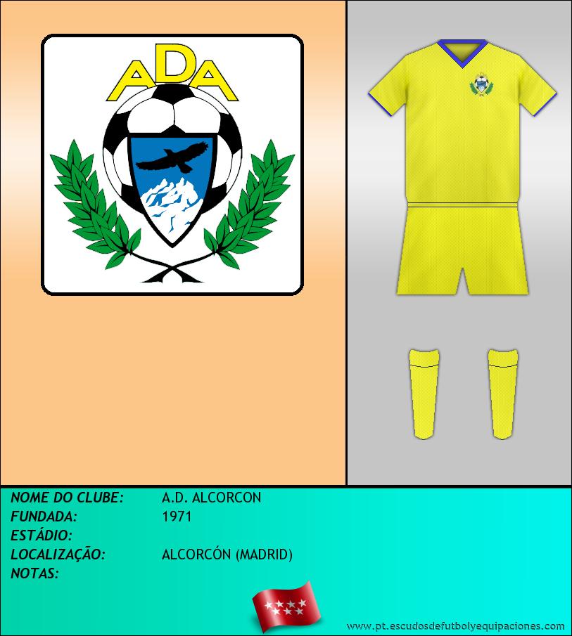 Escudo de A.D. ALCORCON