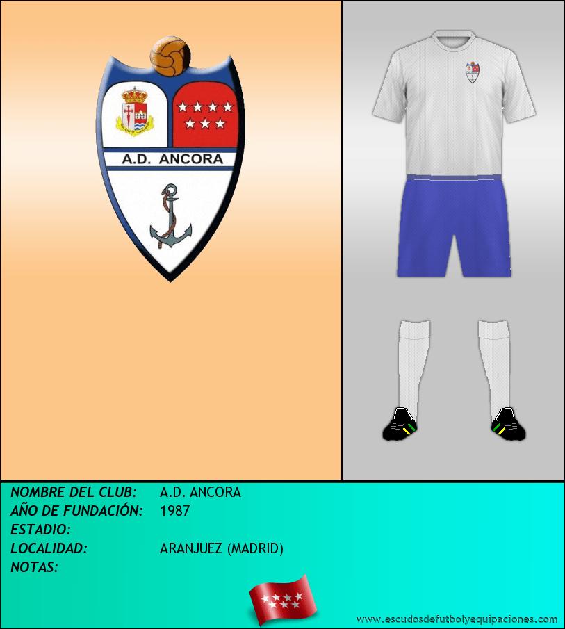 Escudo de A.D. ANCORA