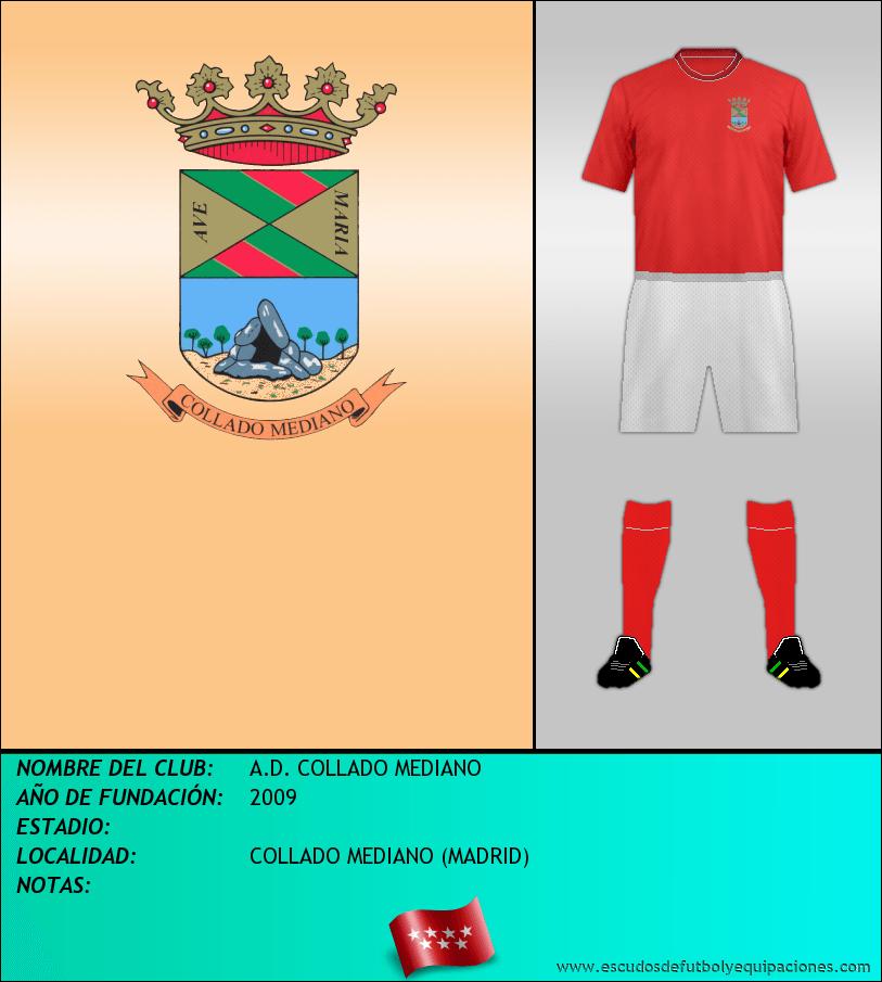 Escudo de A.D. COLLADO MEDIANO