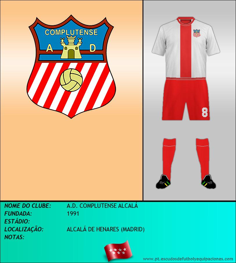 Escudo de A.D. COMPLUTENSE ALCALÁ