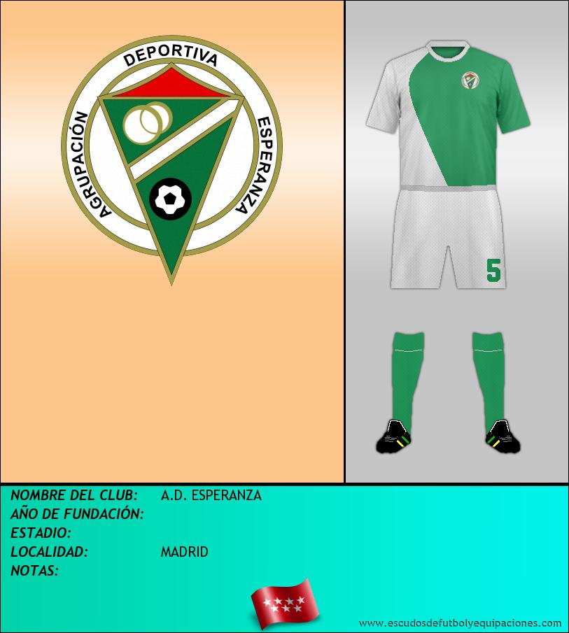 Escudo de A.D. ESPERANZA